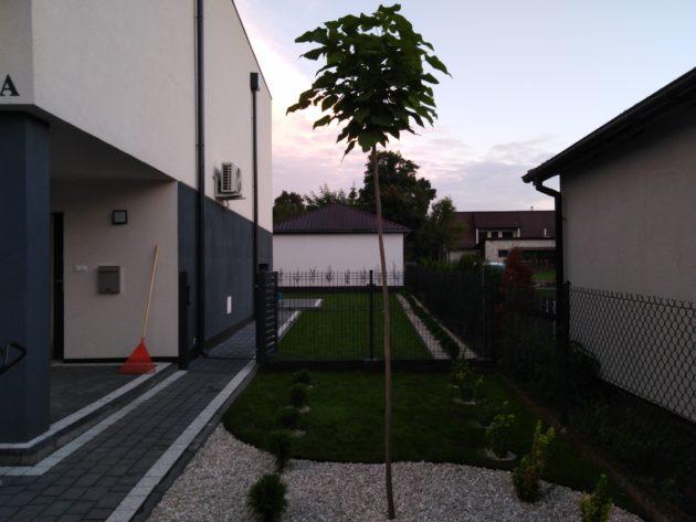 Zagospodarowanie terenu na osiedlu domów jednorodzinnych
